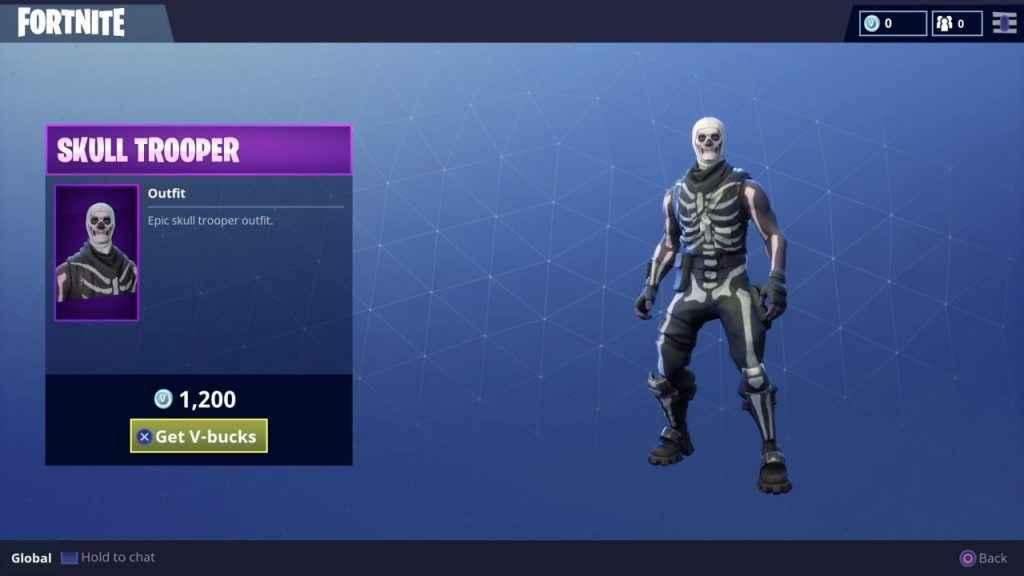 Shop Fortnite Skull Trooper And Ghoul Trooper