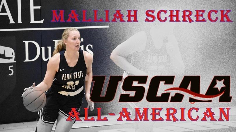 Schreck Earns USCAA All-American