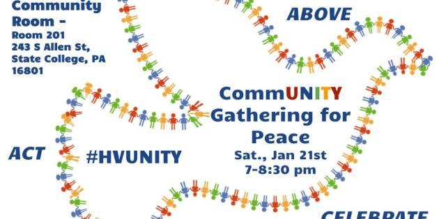 CommUNITY Gathering For Peace Seeks to Express Post-Inauguration Solidarity