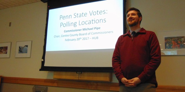 Penn State Students and Commissioner Michael Pipe Discuss Need for More Polling Locations on Campus