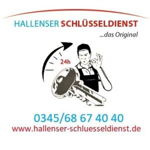 Logo Hallenser Schluesseldienst