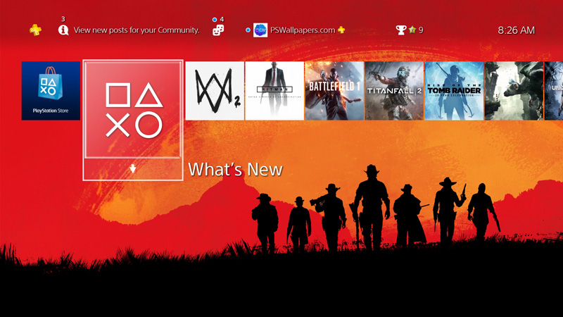 How to install a custom wallpaper on your PS4