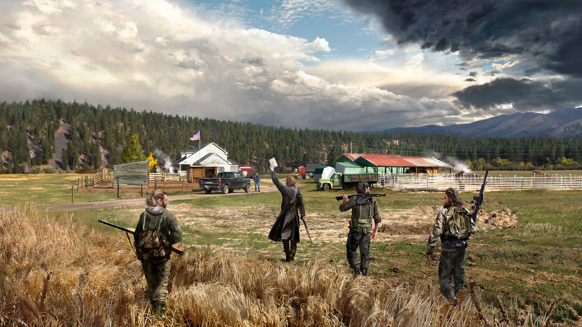 Far Cry 5 Ps Wallpapers