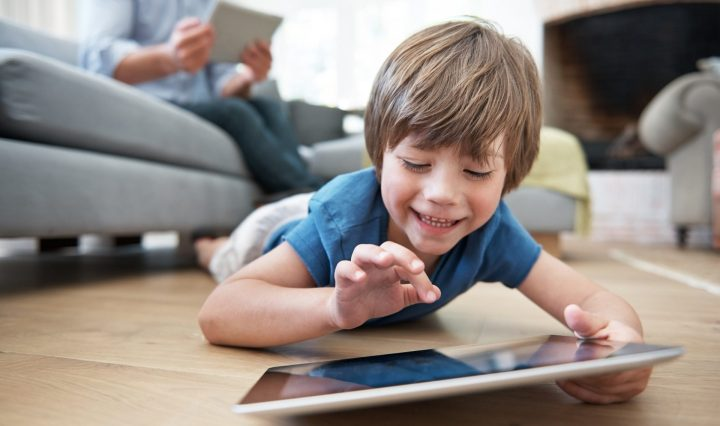 Tecnología en los niños
