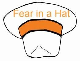 Fear in a hat is a therapeutic group activity to anonymously express and comfort participants' fear.