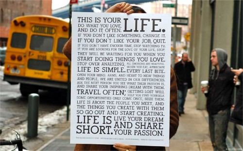 How to Write Your Life Manifesto, and Why It Will Change Your Life