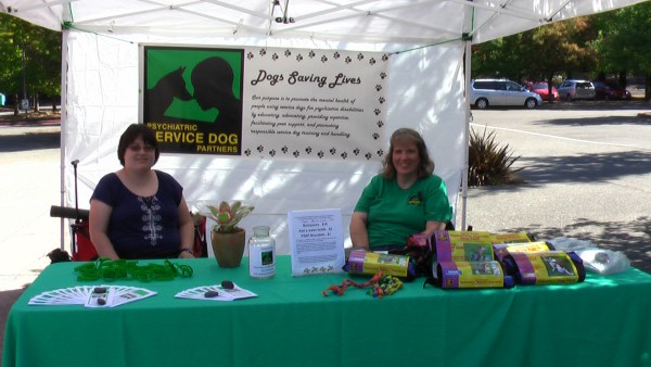Community members Allison and Deanna show initiative and kindheartedness while fundraising to support PSDP's mission.