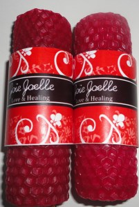 Mini Love and Healing Candles