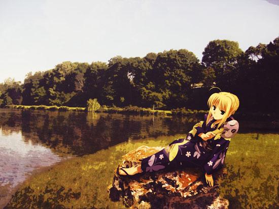 Saber by the Lake
