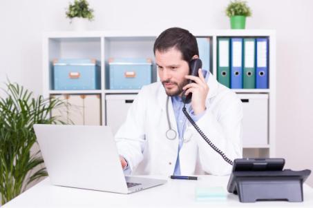 Consultation par téléphone