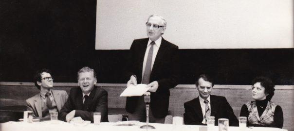 Ladislav CHUDÍK: Dobrô slovo Čechom a Slovákom súcim na slovo – audio (10.12.1982)