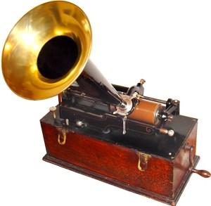 Edisonov fonograf