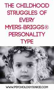 The Childhood Struggles of Every #MBTI Type