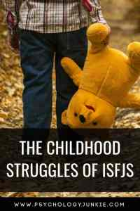 Discover the unique childhood struggles and difficulties that #ISFJs face. #ISFJ #MBTI #Myersbriggs #Personality #personalitytype