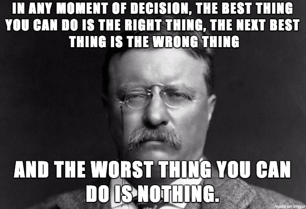Theodore Roosevelt Quotes Awesome Theodorerooseveltestpquote  Psychology Junkie