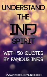 If you're an #INFJ you will instantly relate to these quotes by 50 famous INFJs!