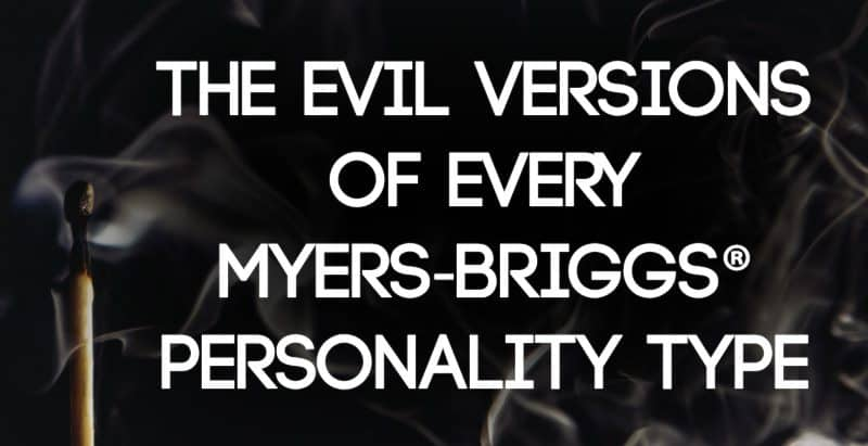 What definition love each myers briggs personality type
