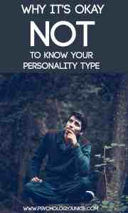Why it's okay to be unsure of your #MBTI type
