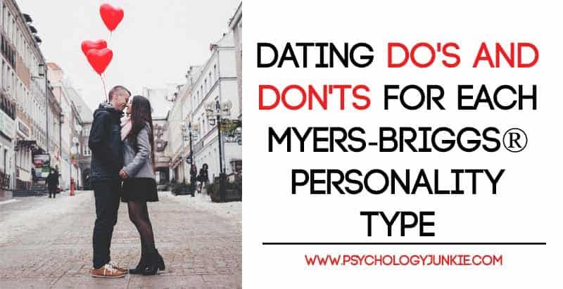 Mbti dating infographic