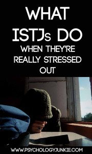 Stress-relief tips for the #ISTJ - #MBTI #personality