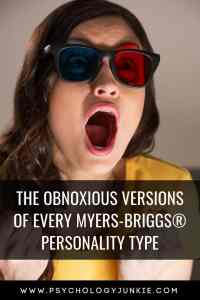 Discover the obnoxious versions of every #personality type in the #Myers-briggs system! #MBTI #Personalitytype #Myersbriggs #INFJ #INTJ #INFP #INTP #ENFP #ENTP #ENFJ #ENTJ #ISTJ #ISFJ #ISFP #ISTP