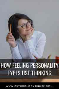 Discover how the feeling #MBTI types use thinking. #Personality #INFJ #INFP