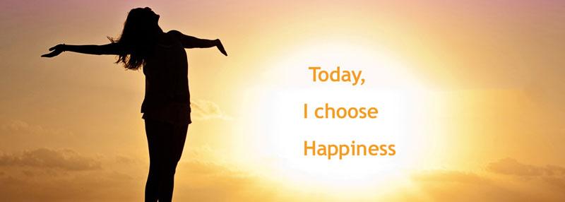 Η δυσκολότερη απόφαση στη ζωή μας είναι η ευτυχία. Πρέπει να επιλέξεις να είσαι ευτυχισμένος.