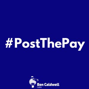 #PostThePay
