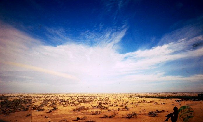 View of Outback Queensland