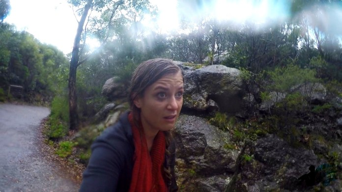 Mt Oberon Hike Rain