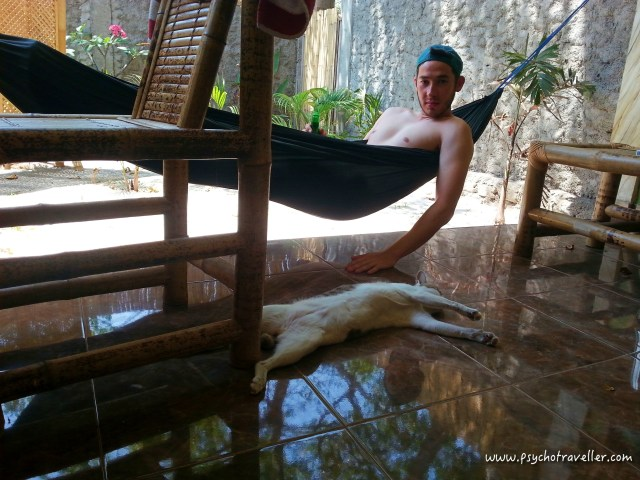 Gili Trawangan Airbnb hammock