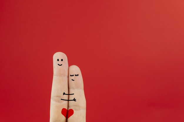 couple fingers