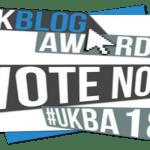 UK Blog Awards 2018: Please Support Psychreg