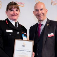 London Fire Brigade Commissione Dany Cotton Receives Mental Health Award