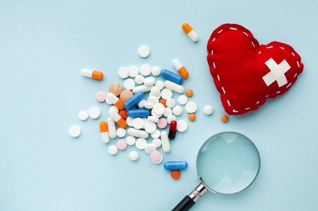 concept of pills pharmacy