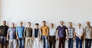 men standing
