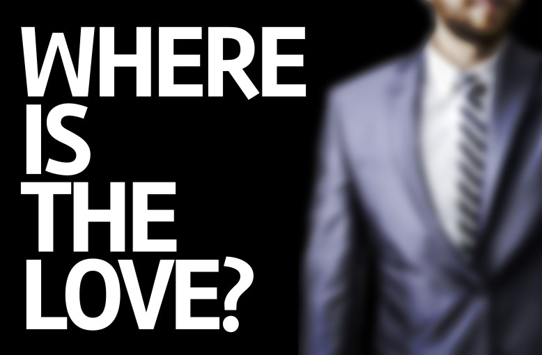 """""""Where is the love?"""""""