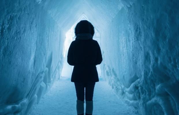 Kortnovelle om å vandre på is