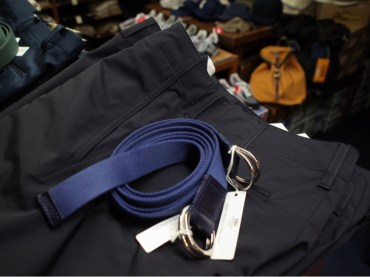 WhitehouseCox D-ring Webbing Belt入荷