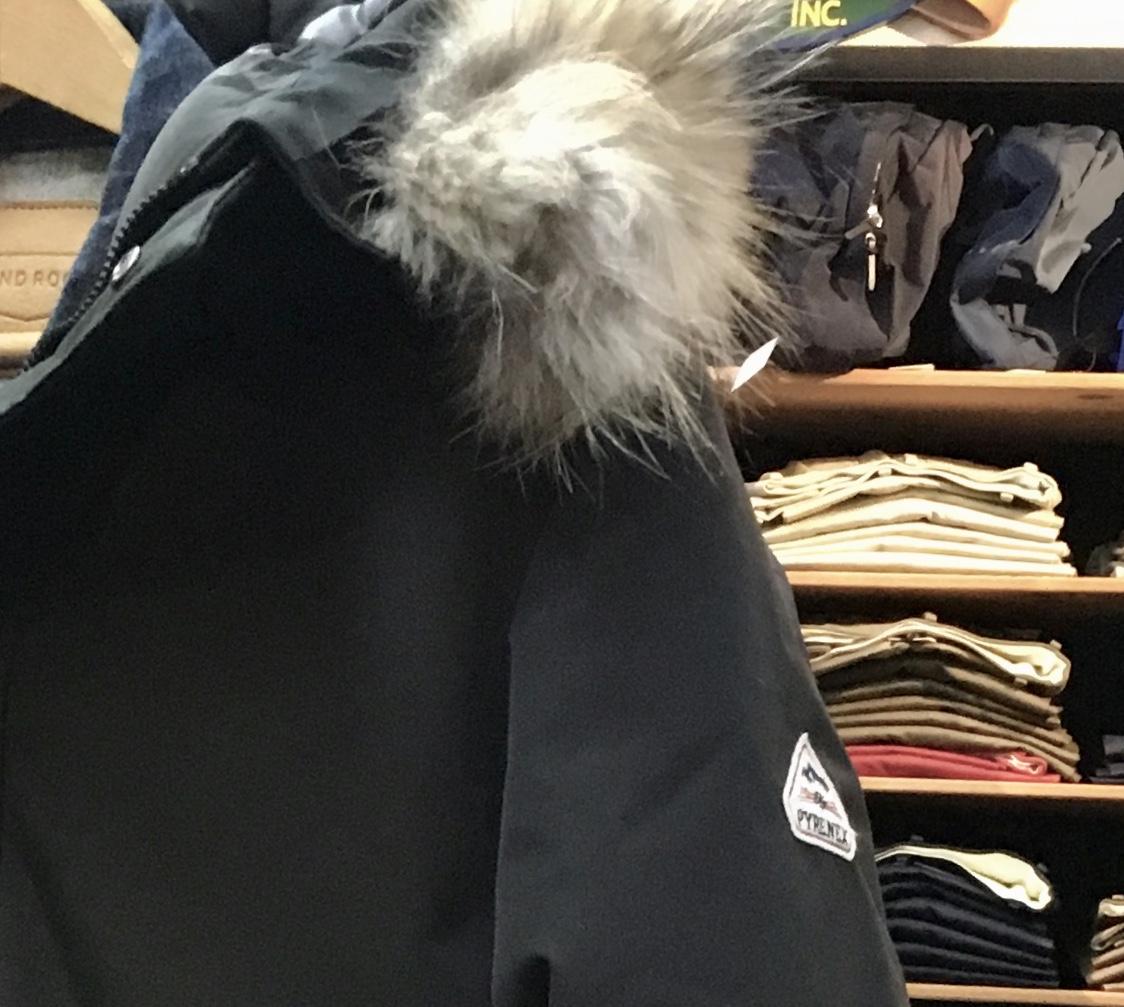 冬の上着とGジャンと