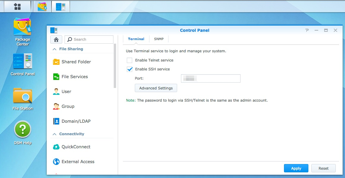 Enabling Mosquitto websockets on Synology NAS - Ptarmigan Labs