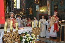 Msza Św. podprzewodnictwem Ks.Biskupa Stanisława Salaterskiego