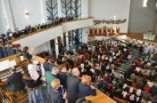 Pierwsze Nabożeństwo Majowe wnowym kościele