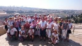 Widok naJerozolimę odstrony Góry Oliwnej