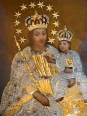 Słynący łaskami obraz Matki Bożej Radosnej zPtaszkowej