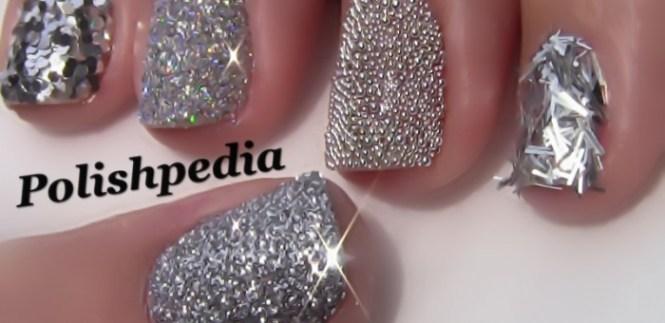 Tri Colored Nails