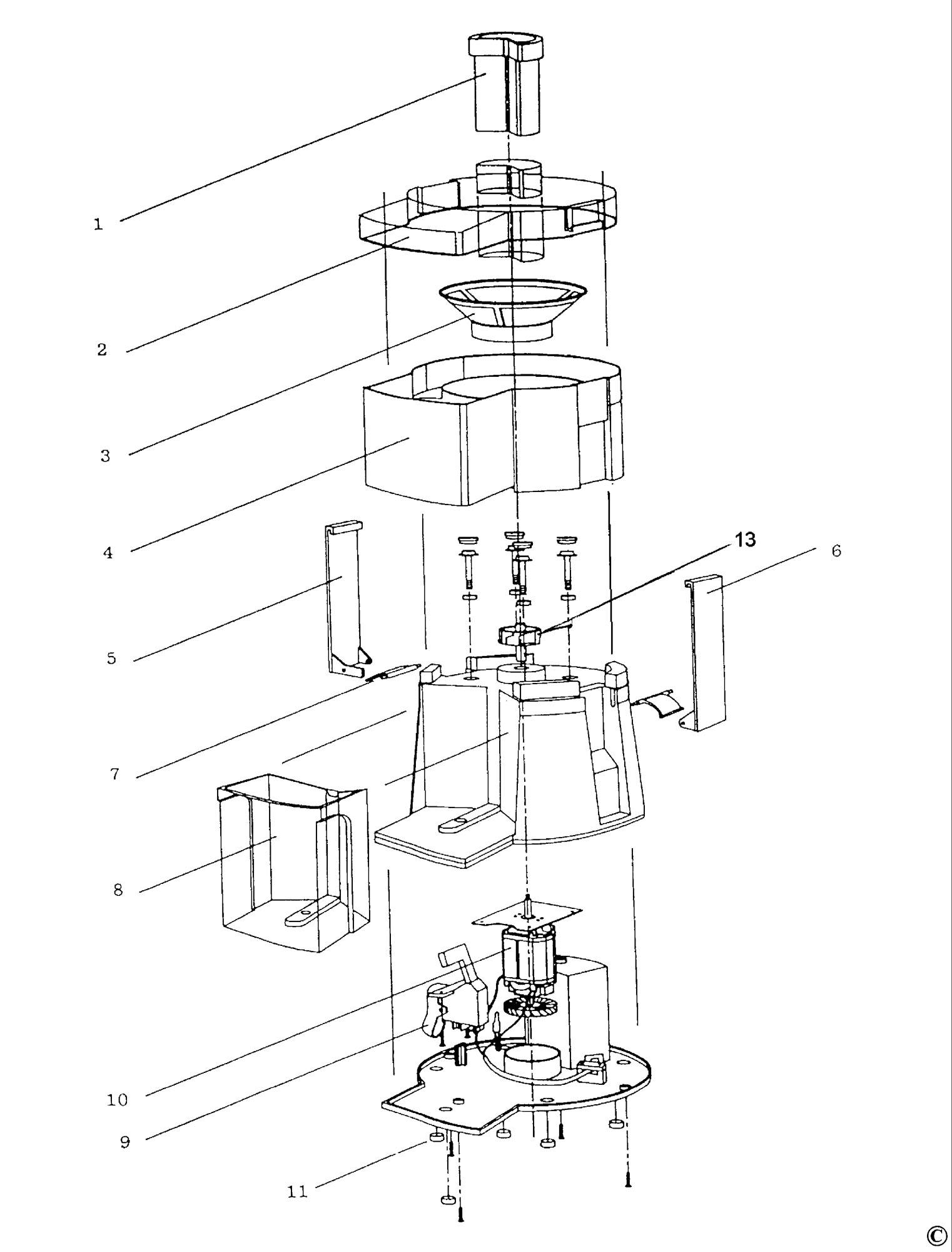 Spares For Black Amp Decker Je40 Juicer Type 1 Spare Je40