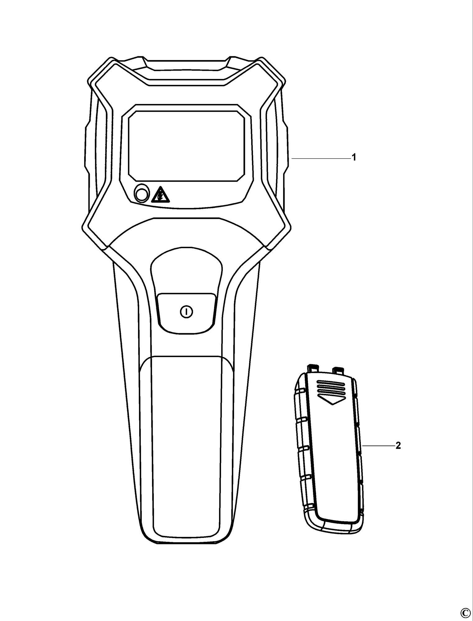 Spares For Black Amp Decker Bds202 Sensor Type 1 Spare
