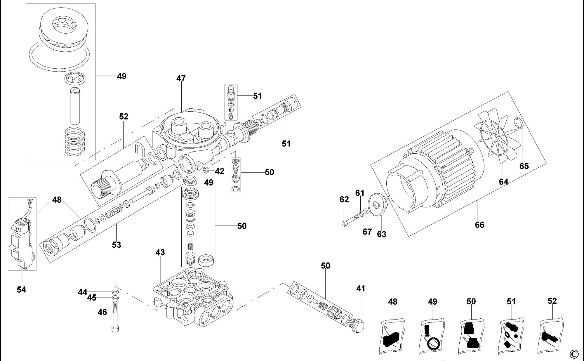 Spares For Black Amp Decker Pw Spb Pressure Washer Type