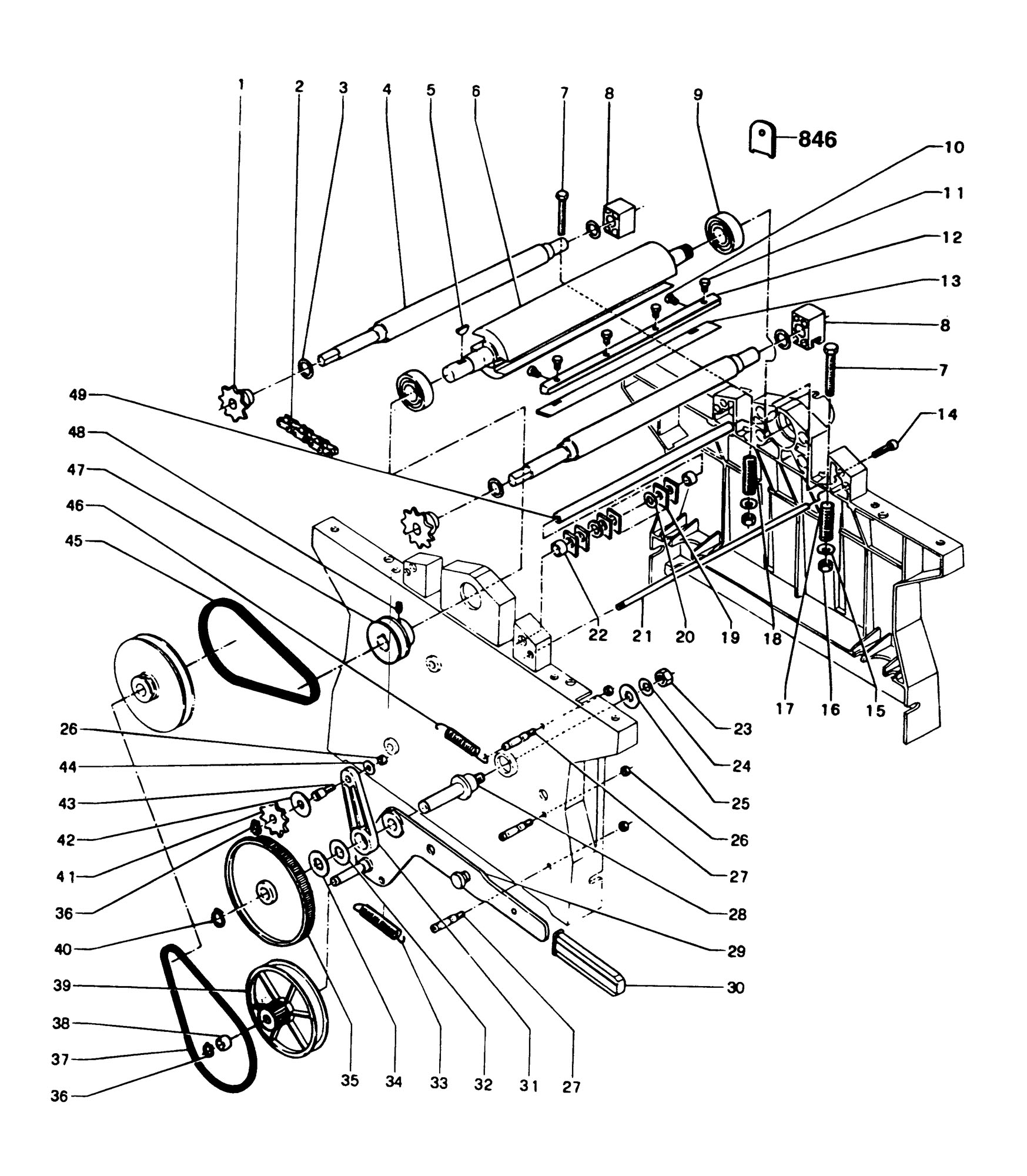 Spares For Dewalt Dw K Planer Thicknesser Type 1